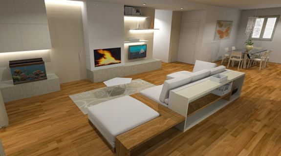 rendering bagno decor